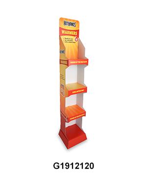 Custom Design Cardboard POS Hangsell Unit for Pharmacy