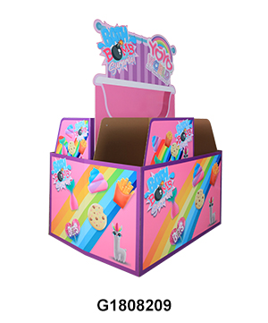 Custom POS Corrugated Full Pallet Display Stand for Toys