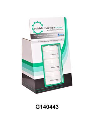 Custom POS Retail Display Box for Sunscreen Cream