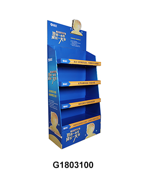 Pharmacy Carton Retail Display for Health Care Products